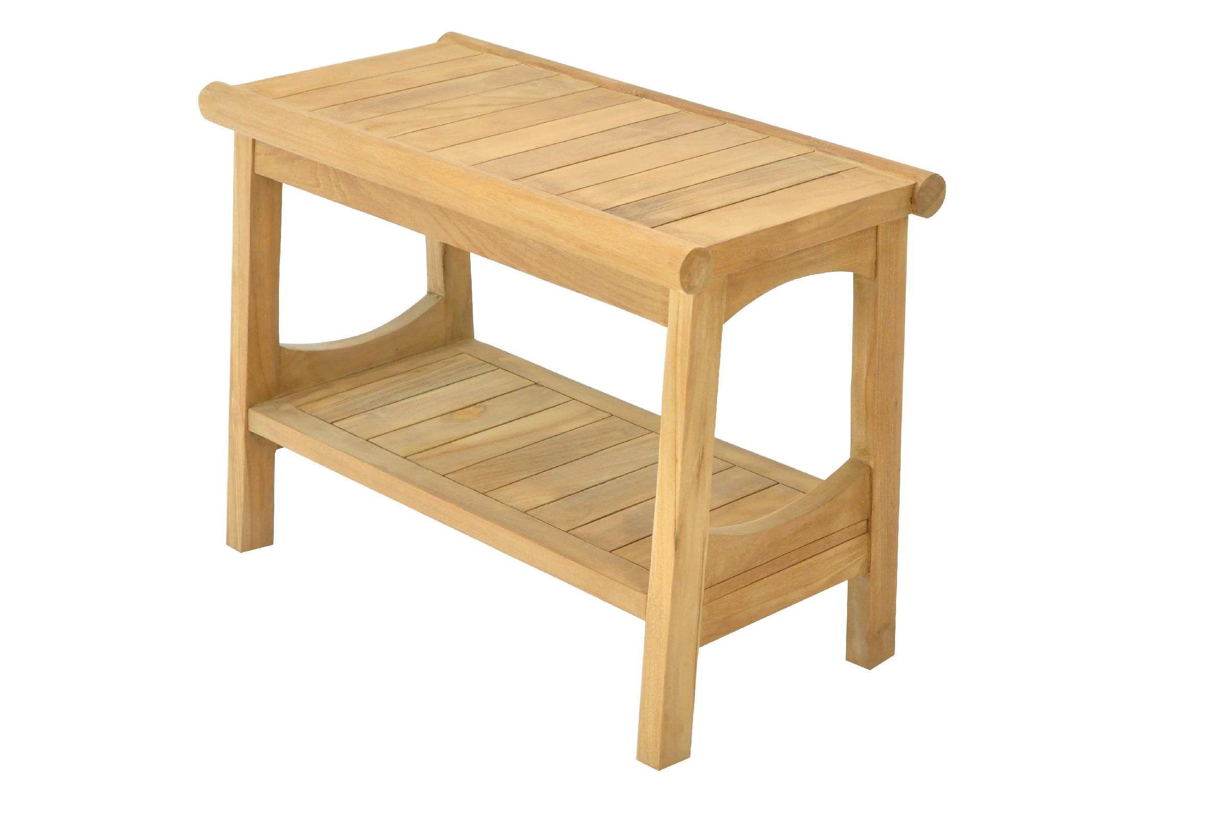Miraculous Details About Grade A Teak Wood Perth Shower Seat 24 Stool Bench Outdoor Patio Uwap Interior Chair Design Uwaporg