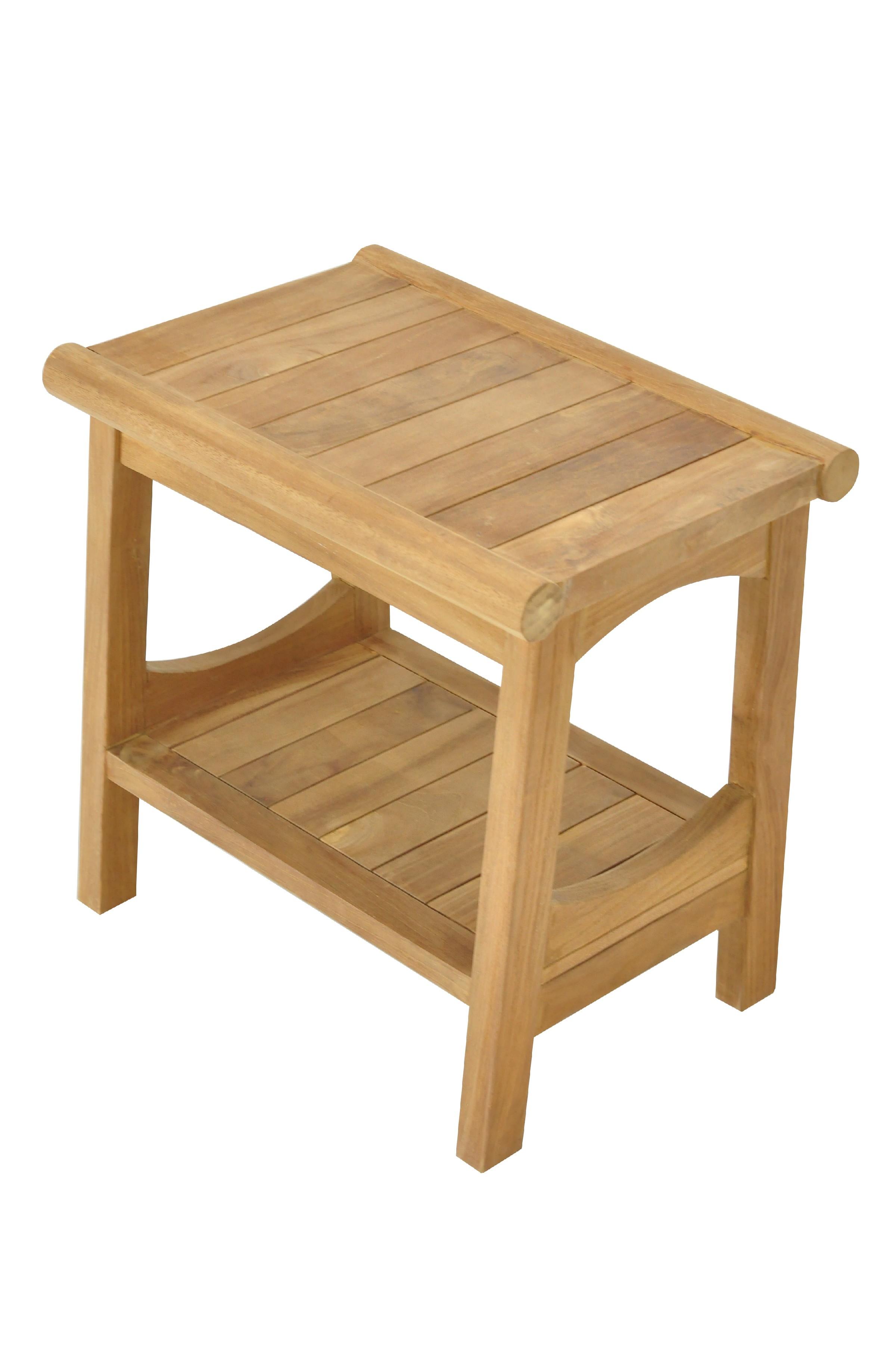 Astounding Details About Grade A Teak Wood Perth Shower Seat 18 Stool Bench Outdoor Patio Uwap Interior Chair Design Uwaporg
